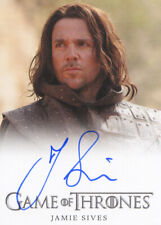 Jory Cassel Jamie Sives Game of Thrones 1 Autograph Trading Card Auto