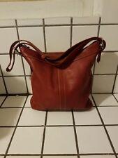 Coach Legacy RED Leather Slimline Purse, Duffle Bag Crossbody - #H2S-9188