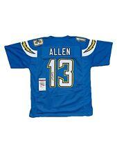 Keenan Allen Signed Jersey JSA