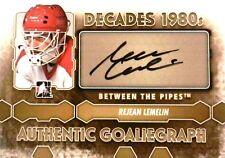 12-13 btp decades 80s rejean lemelin calgary flames goaliegraph autograph auto