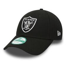 Era Mens 9FORTY NFL Oakland Raiders Cap - Black