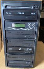 DVD Duplicator 1-5 Asus 24X Burner CD DVD Duplicator Copier Free Shipping