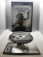 Lemony Snicket's A Series of Unfortunate Events - Complete CIB - Playstation 2 P