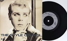 Style Council ORIG UK PS 45 Walls come tumbling down VG+ 1985 Paul Weller Jam