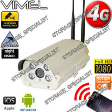 4G GSM Security Camera Wireless Alarm Farm Remote View CCTV Outdoor Phone 3G
