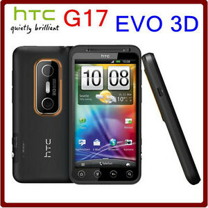 HTC EVO 3D X515m G17 3G Dual-Core WIFI GPS 5MP TouchScreen Original Unlocked