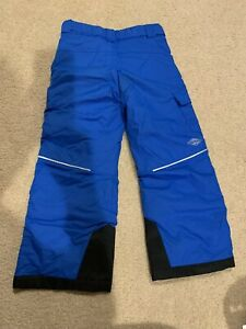 Boys Youth Columbia Snow Ski Pants Insulated XS Omni-Shield Blue