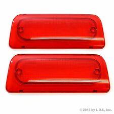 2 Extended Cab 3rd Brake Light Lens 94-04 S-10 Sonoma High Third Genuine RHA New