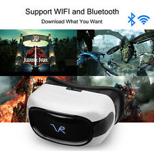 All-in-one HD IMAX Quad Core Wifi Bluetooth 3D Virtual Reality VR Glasses NEW