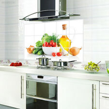 Removable Oil-Proof Kitchen Mural Vinyl Wall Stickers Home Room Decal Decor