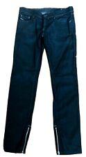 Diesel Brand Womens Black ZIVY Zip Jeans Wash 0064U_Stretch 28x30 EUC+