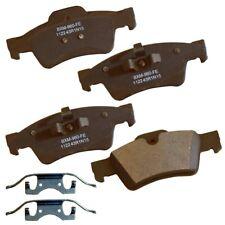 Disc Brake Pad Set-Stop Semi-Metallic Brake Pad Rear Bendix SBM1122