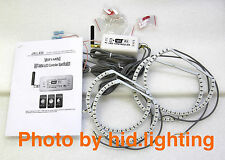 BMW E36 E38 E39 E46 Multi-Color WIFI 5050 RGB SMD LED ANGEL EYE HALO RINGS Kit