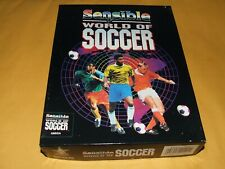 SENSIBLE WORLD OF SOCCER by RENEGADE (1994) for AMIGA  GOOD USED CONDITION!
