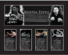 New Kostya Tszyu Signed Limited Edition Memorabilia Framed
