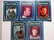 5 Star Trek File Magazines...Spock...Kirk