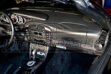 PORSCHE 911 996 CARRERA INTERIOR REAL CARBON FIBER DASH TRIM KIT 1999 2000 2001