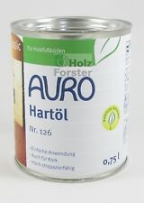 AURO Hartöl Nr. 126 0 75 L