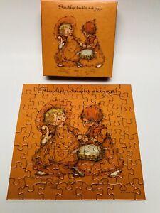 "Vtg Springbok Mini Jigsaw Puzzle ""Joy! Joy!"" Hallmark 1977, Mary Hamilton"