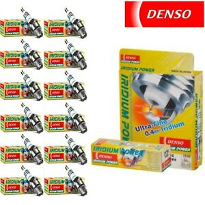 12 Denso Iridium Power Spark Plugs for 1996-1997 FERRARI F50 V12-4.7L