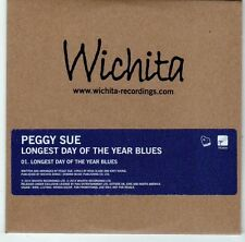 (EL738) Peggy Sue, Longest Day of the Year Blues - 2014 DJ CD
