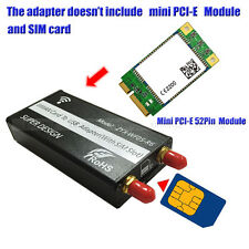 1X Mini PCI-E to USB Adapter With SIM card Slot for WWAN/LTE Module