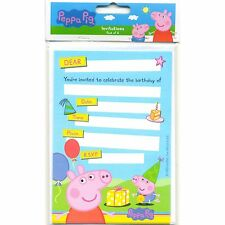 Peppa Pig Party Invitations (8)