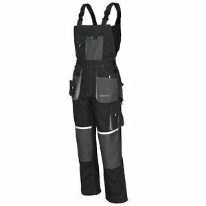Bib and Brace Overalls MENS WORK TROUSERS Knee Pad Multi Pocket /// EURO CLASSIC