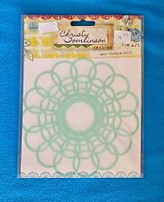 New listing Christy Tomlinson Designs She Art Mask Vintage Doily by pinkpaislee Nip/Nos