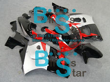 Black red Fairing Fit SUZUKI GSX-R600 GSX-R750 SRAD 97 98 1996-1999 028 A5