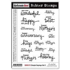 Darkroom Door Stamp Set - Simple Sayings vol 2