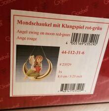 """Goebel Christmas Angel """" Moon-swing with Wind chime """""""
