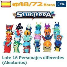 Slugterra ♦ Set 16 Figuras PVC Giochi ♦ Figure Set Slug Terra 16 Pcs BAJO TIERRA
