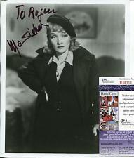 MARLENE DIETRICH SILENT MOVIE ACTRESS SIGNED PHOTO AUTOGRAPH JSA AUTHENTICATED