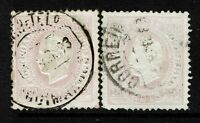 Portugal SC# 45c, Used, reprint, one on right has margin thin - Lot 072317