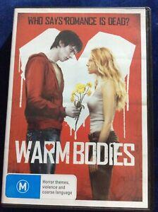 Warm Bodies - Region 4 DVD - Excellent Condition - FREE POST