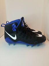 Nike 880144-014 Force Savage Pro Football Lacrosse Cleats Black Royal Shoes Mens