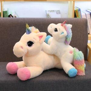 Weicher Plüsch Jumbo Großes Einhorn Spielzeug Stofftier Puppe Kinder Geschenk
