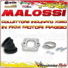 MALOSSI 2013802 COLLETTORE INCLINATO X360 Ø 30-35 DERBI VARIANT Sport 50 2T