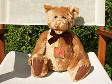 """RARE GUND- TYLER MOHAIR TEDDY BEAR - #9663 - 15 1/2"""" - LTD 425 - NEW - ALL TAGS"""