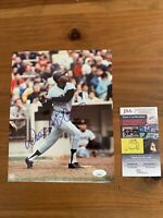 Willie McCovey Autographed Signed 8x10 Photo JSA COA Free shipping
