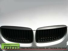 Matte Black Kidney Front Grill Grilles For BMW E90 E91 M3 3 Series 4Door 05-08
