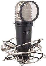 Samson MTR101A Kit de micrófono condensador de estudio con Filtro Anti Pop y montaje amortiguador