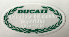 DUCATI 748 916 996 CAMPIONE DEL MONDO SUPERBIKE 1994-95 SCREEN RESTORATION DECAL