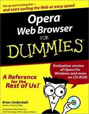 Opera Web Browser For Dummies (For Dummies (Computers))-ExLibrary