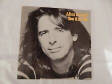 """ALICE COOPER """"You and Me"""" PICTURE SLEEVE! BRAND NEW! HARD TO FIND A NEW ONE!"""