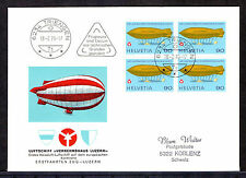 Aviation Used Cover European Stamps