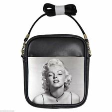 MARILYN MONROE THE ART OF BEAUTY Leather Sling Bag Small Purse