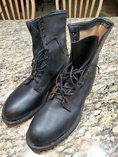 Cove Shoe Company Biltrite Military Combat Army Boots Sz 9 R.  Black  *Look New