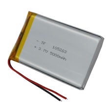 3.7V 5000 mAh Polymer Li Battery LiPo For GPS Power bank PSP Tablet PC 105283